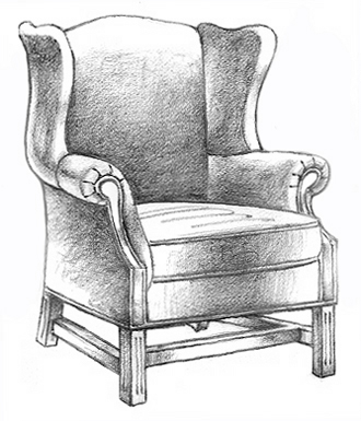 comfy chair drawing. comfy chair drawing h